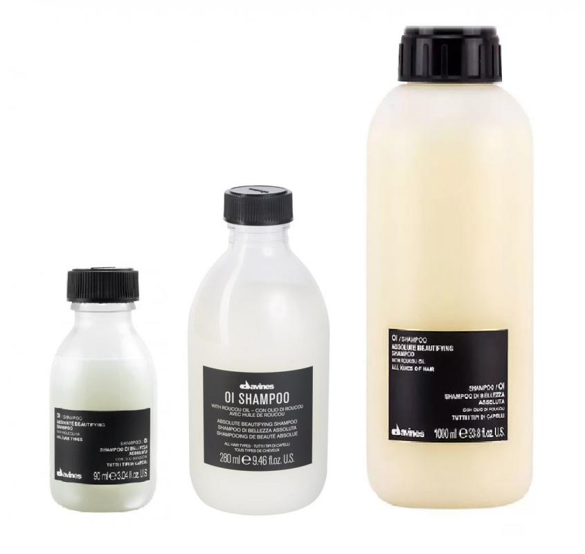 Davines (Давинес) Шампунь для абсолютной красоты волос (OI/Absolute beautifying shampoo), 280/1000 мл.