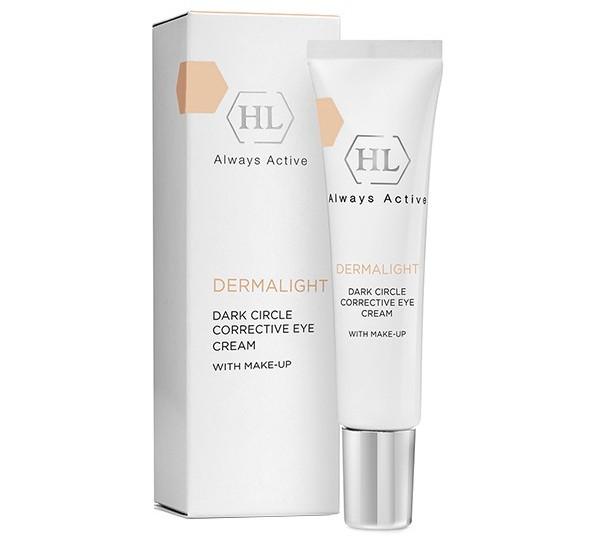 Dermalight Dark Circle Corrective Eye Cream make-up корректирующий крем с тоном, 15 мл.
