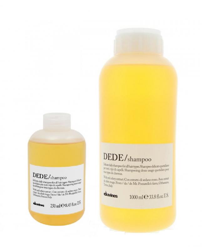 Davines (Давинес) Шампунь для деликатного очищения волос (Dede/shampoo), 250/1000 мл.