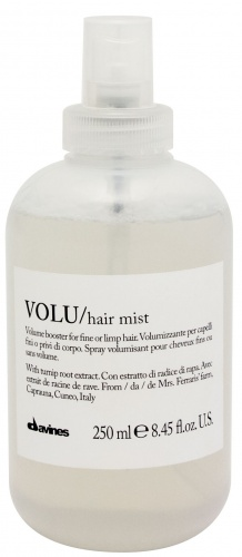 Davines (Давинес) Несмываемый спрей для придания объема волосам (Volu/hair mist), 250 мл