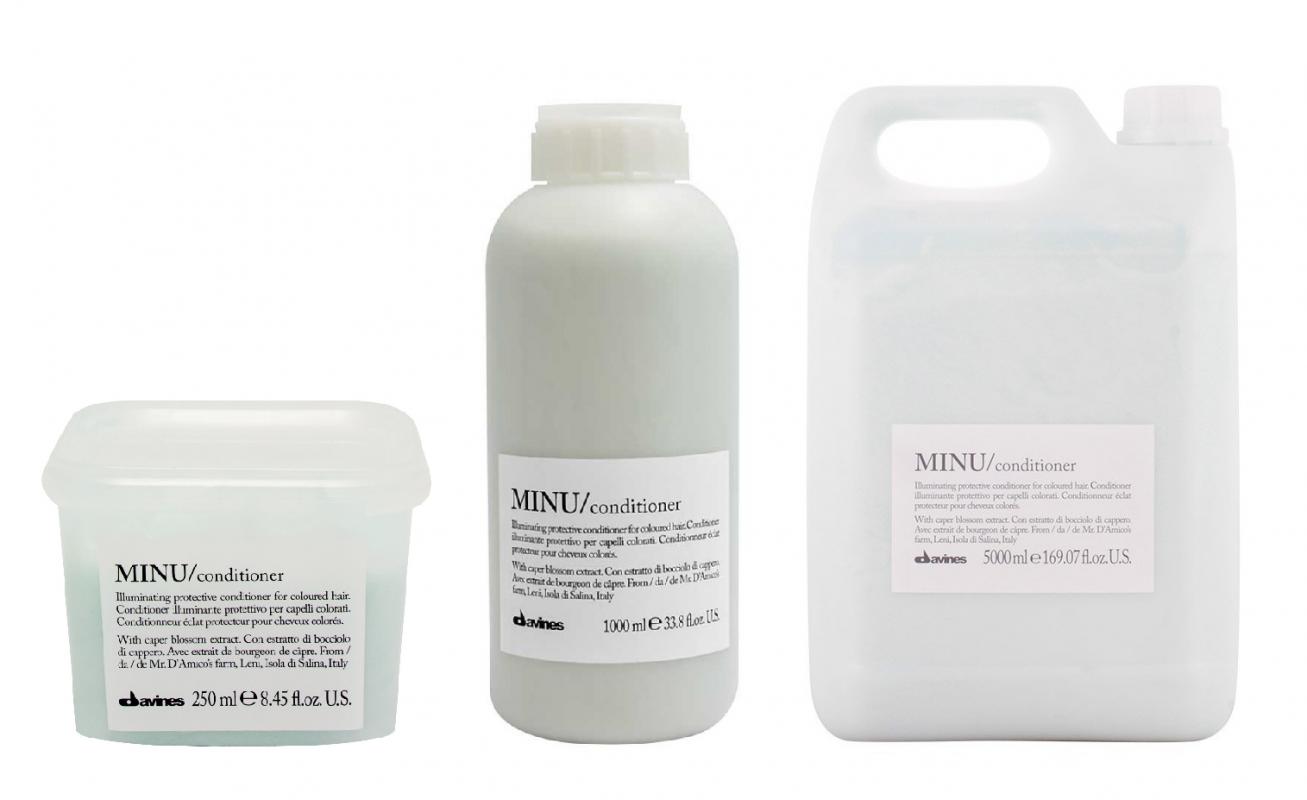 Davines (Давинес) Защитный кондиционер для сохранения косметического цвета волос (Minu/conditioner), 250/1000 мл.
