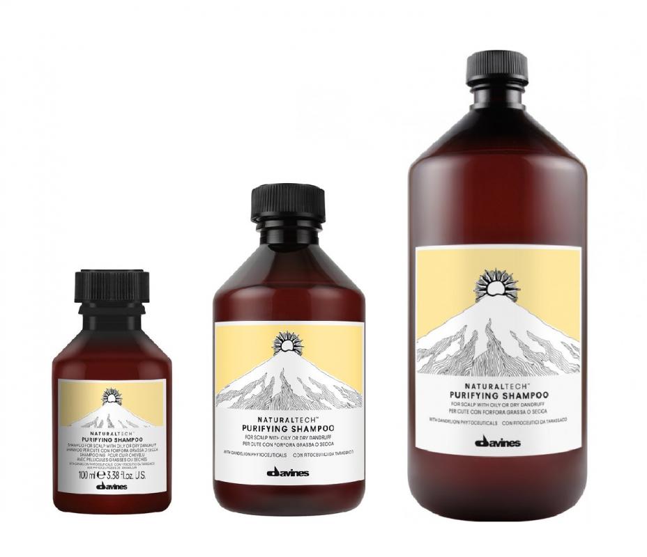 Davines (Давинес) Очищающий шампунь против перхоти (Purifying Shampoo), 250/1000 мл.