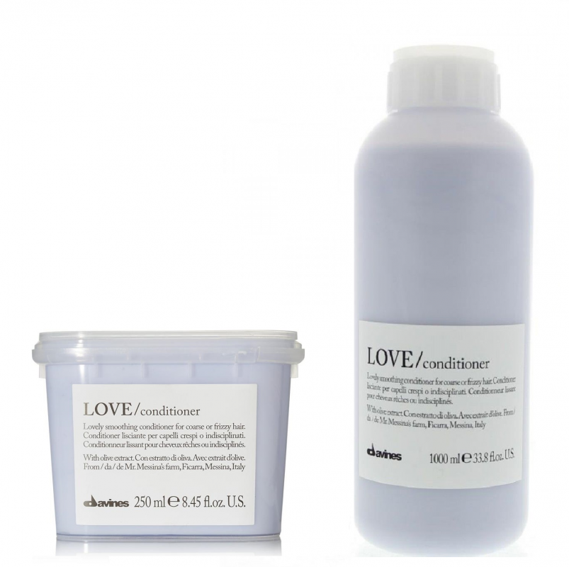 Davines (Давинес) Кондиционер для разглаживания завитка (Love/conditioner, lovely smoothing conditioner), 250/1000 мл.