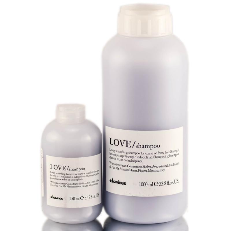 Davines (Давинес) Шампунь для разглаживания завитка (LOVE/shampoo, lovely smoothing shampoo), 250/1000 мл.