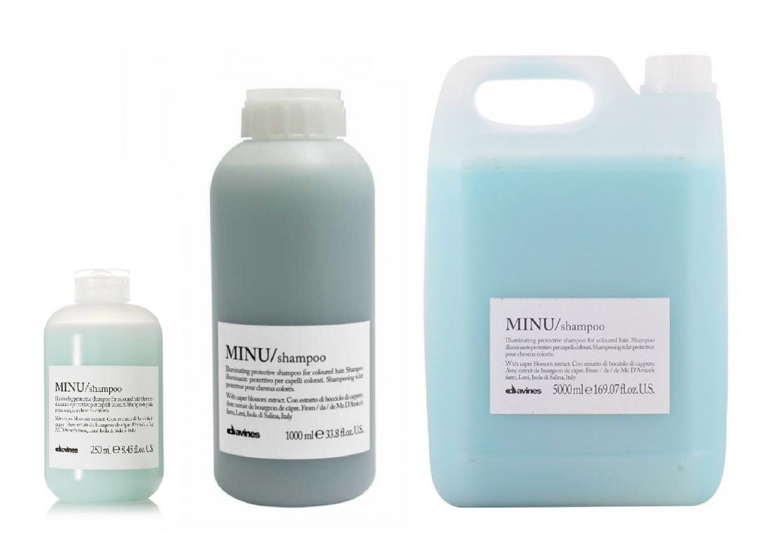 Davines (Давинес) Защитный шампунь для сохранения косметического цвета волос (MINU/shampoo), 250/1000 мл.