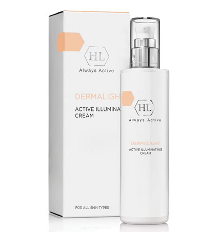 Dermalight Active Illuminating cream активный осветляющий крем, 50 мл.