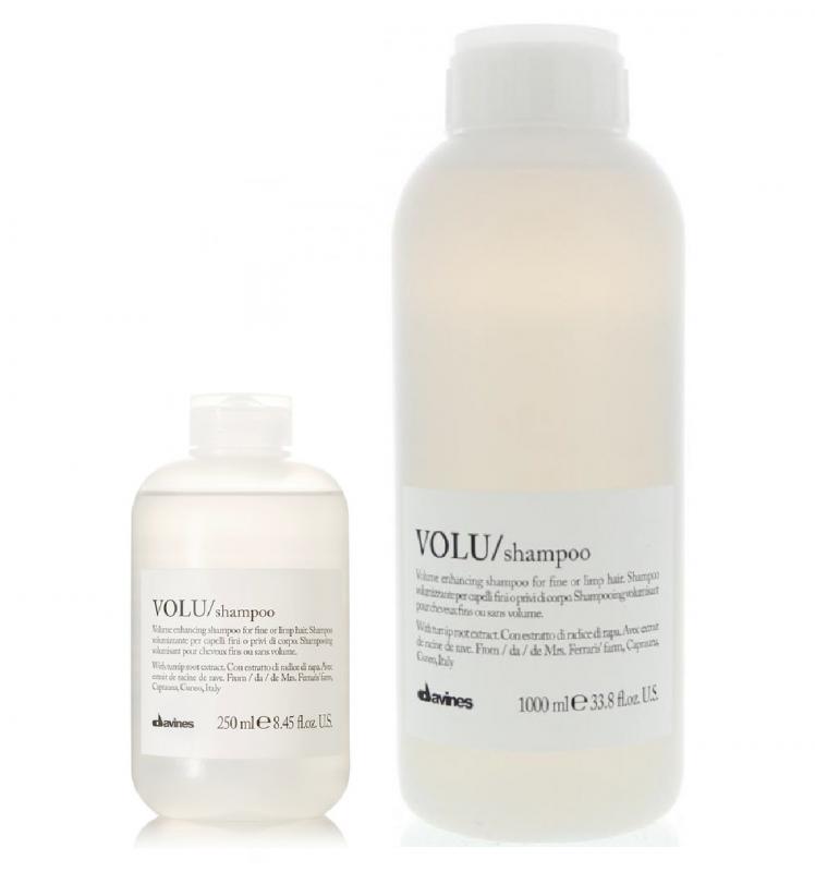 Davines (Давинес) Шампунь для придания объема волосам (Volu/shampoo), 250/1000 мл.