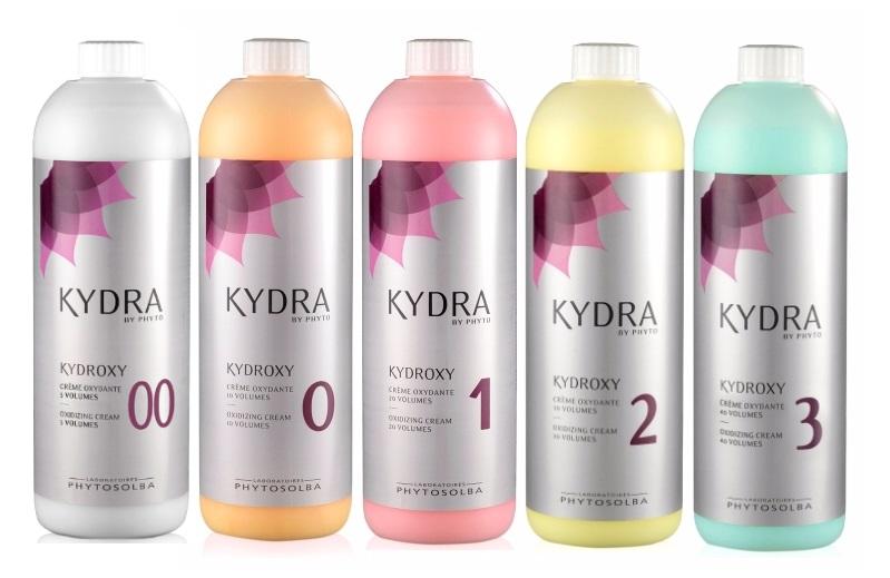 Kydra (Кидра) Оксиданты для краски Кидра Крем Кидраокси 1,5/3/6/9/12 % (Kydroxy volumes)